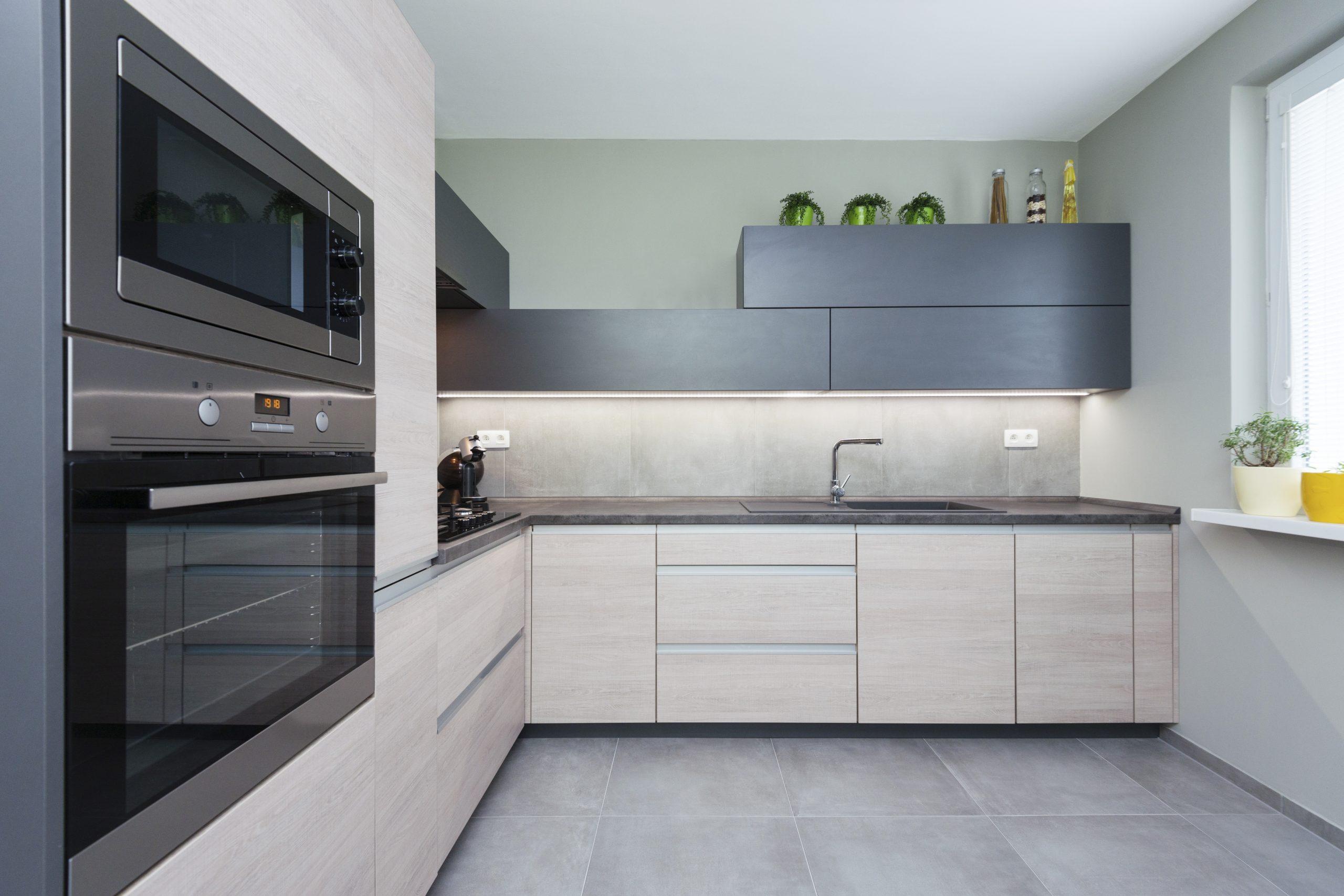 Elegant and comfortable kitchen interior